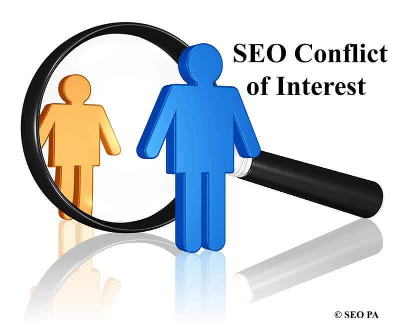 SEO Company Conflict of Interests